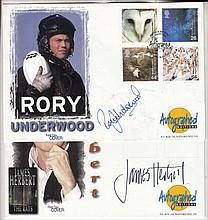 AUTOGRAPHS Rory Underwood autographed on 2000