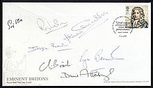 AUTOGRAPHS 2009 Eminent Britons single value Royal