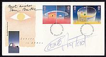 AUTOGRAPHS 1991 Europe in Space Post Office FDC