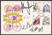 AUTOGRAPHS 1982 Theatre Stuart FDC signed by John