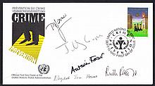 AUTOGRAPHS 1990 United Nations Crime Prevention