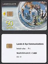 PHONECARDS Landis & Gyr Pulsar Demo Test Card &