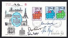 AUTOGRAPHS Edward Heath, John Major, Sebastian