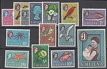 ST.HELENA 1961-65 set Mint. SG 176-89 Cat £60 (14)