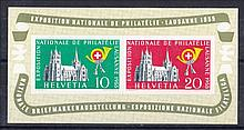 SWITZERLAND 1955 National Philatelic Exhibition