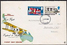 GREAT BRITAIN MISSING COLOURS ON FIRST DAY COVERS