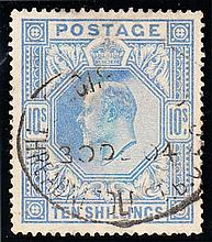 GREAT BRITAIN KING EDWARD VII 2/6d, 5/- & 10/-