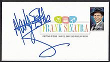 AUTOGRAPHS Marty Wilde: Autographed on 2008