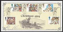 GREAT BRITAIN FIRST DAY COVERS 1994 Christmas