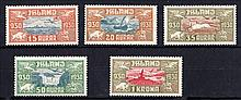 ICELAND 1930 Air set Mint, fine. SG 174-8 Cat £190
