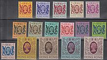 HONG KONG 1982 set (except 30c) U/M. SG 415-487