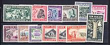 NEW ZEALAND 1940 Centenary set Mint. SG 613-25 Cat