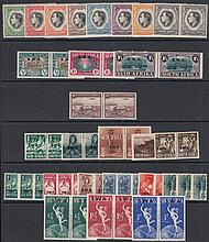 SOUTH AFRICA (& SWA) George VI Mint range on