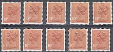 GREAT BRITAIN DECIMAL MACHIN DEFINITIVES 10p 2