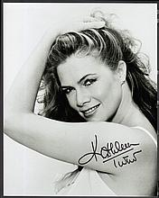 AUTOGRAPHS Kathleen Turner: Autographed on 10