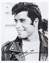 AUTOGRAPHS John Travolta: Autographed on 10