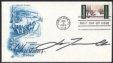 AUTOGRAPHS John Travolta: Autographed on USA 1969