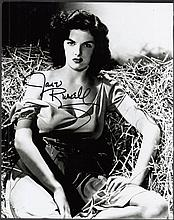 AUTOGRAPHS Jane Russell: Autographed on 10