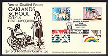 GREAT BRITAIN FIRST DAY COVERS 1981 Disabled