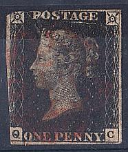 GREAT BRITAIN QUEEN VICTORIA: LINE ENGRAVED 1840