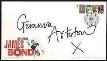 AUTOGRAPHS Gemma Arterton: Autographed on 2008