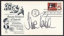 AUTOGRAPHS Jane Fonda: Autographed on USA 1966
