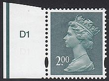 GREAT BRITAIN DECIMAL MACHIN DEFINITIVES De La Rue