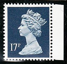 GREAT BRITAIN DECIMAL MACHIN DEFINITIVES 17p