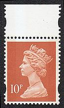 GREAT BRITAIN DECIMAL MACHIN DEFINITIVES 10p Photo