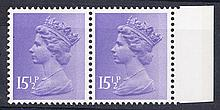 GREAT BRITAIN DECIMAL MACHIN DEFINITIVES 15 1/2p