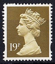 GREAT BRITAIN DECIMAL MACHIN DEFINITIVES 19p