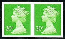 GREAT BRITAIN DECIMAL MACHIN DEFINITIVES 20p