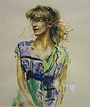 PAINTINGS Patti Avery by Robert Lenkiewicz,