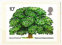 1974 Chestnut Tree Mint, fine. Cat £150