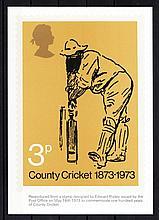 1973 Cricket Mint, fine. Cat £70