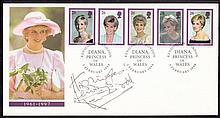 Ken Dodd: Autographed on 1998 Princess Diana Royal