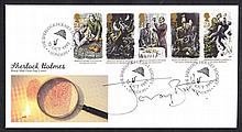 Jeremy Brett: Autographed on 1993 Sherlock Holmes