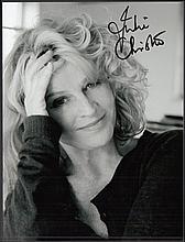 AUTOGRAPHS Julie Christie, Ann Blyth, Richard Adams & P.D.James autographed photos (4 items)