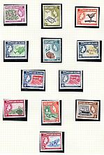PITCAIRN ISLANDS Early QEII U/M or M range on album pages incl. 1957-63, 1964-65 & 1967 sets, also 1