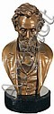 President Abraham Lincoln Bust, John Rogers, Click for value