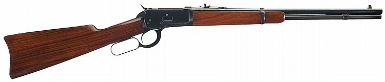 Exceptional Winchester Model 92 Saddle Ring Lever Action Carbine