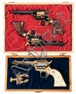 Collector's Lot of Three Cased Commemorative Colt Frontier Scout Single Action Revolvers