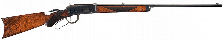 Excellent Deluxe Special Order Winchester Model 1894 Lever Action Rifle with Factory Letter, Print and Book