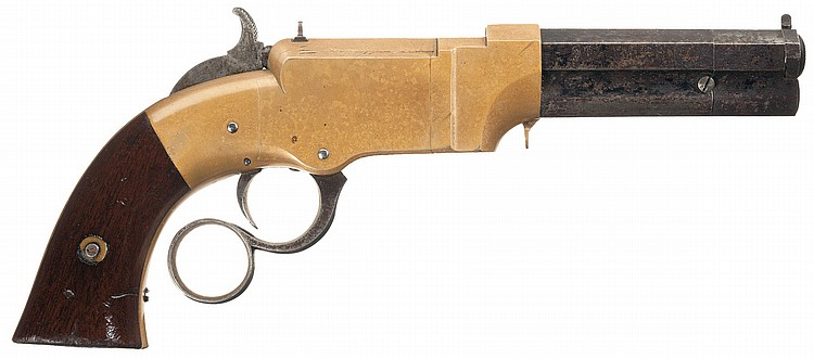 Fine New Haven Arms Volcanic Pocket Pistol