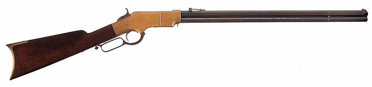 Exceptional Civil War Production New Haven Arms Company Henry Lever Action Rifle