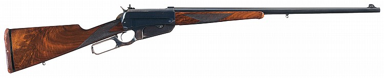Scarce Winchester Deluxe Model 1895 Lever Action Rifle in Highly Desirable
