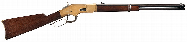 Exceptional Winchester Third Model 1866 Saddle Ring Lever Action Carbine
