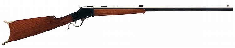 Custom Winchester Takedown Model 1885 High Wall Single Shot Sporting Rifle