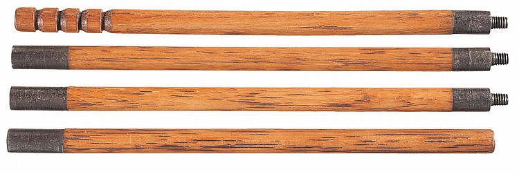 Scarce 4-piece Henry Repeating Rifle Cleaning Rod