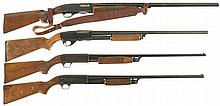 Four Slide Action Shotguns -A) Winchester Model 1200 Shotgun